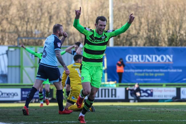 Christian Doidge has been one of League Two's top strikers at Forest Green