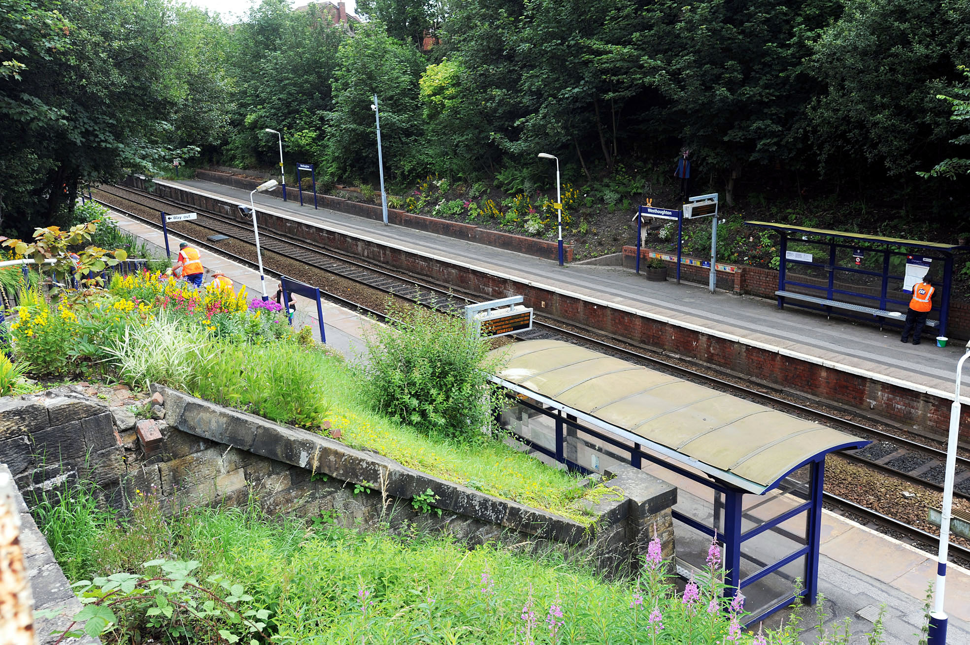 Westhoughton train station.