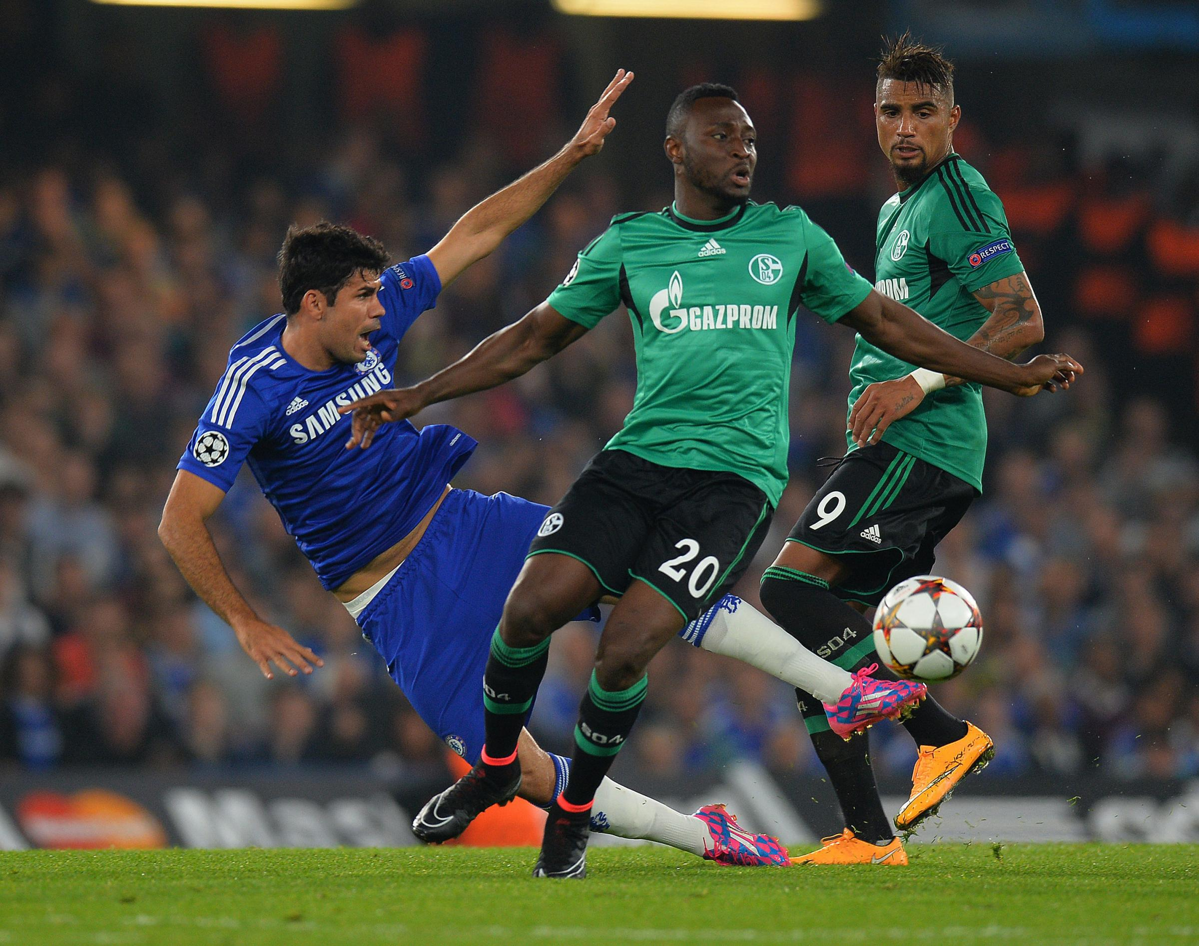 EURO STAR: Chinedu Obasi played Champions League football for Schalke
