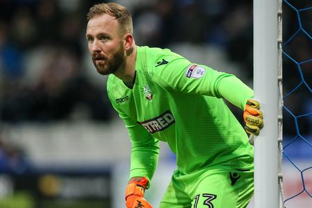 The Bolton News: KEEPING GUARD: Ben Alnwick has made more than 100 saves for Wanderers this season in the Championship
