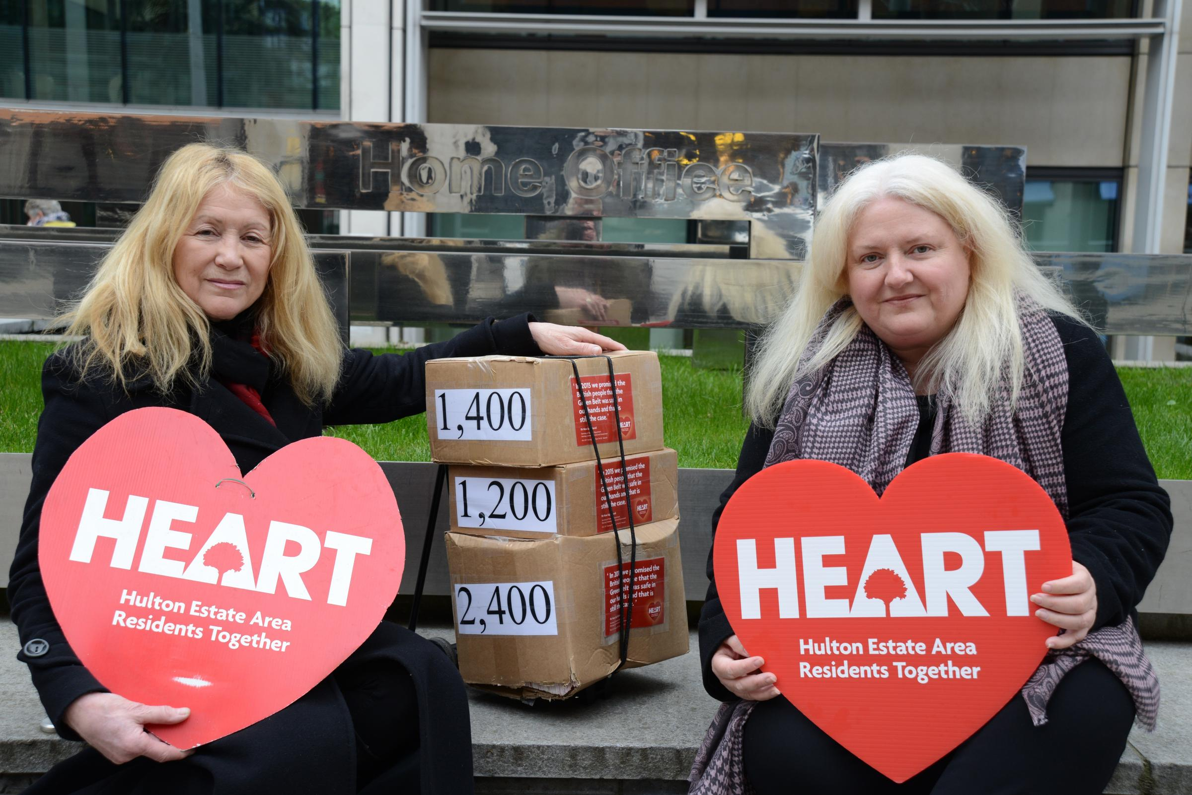 CAMPAIGN: Sandra Hesketh and Julia Hulton step up fight to save historic park