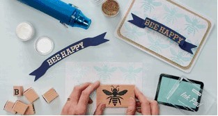 DEMONSTRATIONS: Hobbcraft staff will teach visitors how to add dimension and texture to their papercraft projects