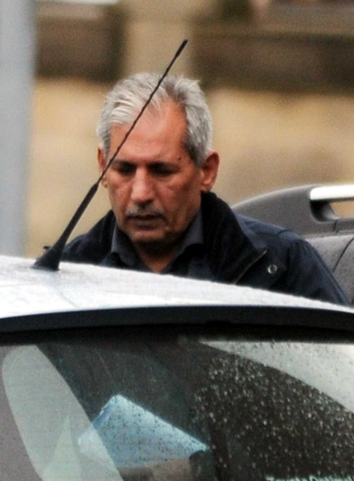 CONVICTED: Taxi driver Pervez Sajid leaves court