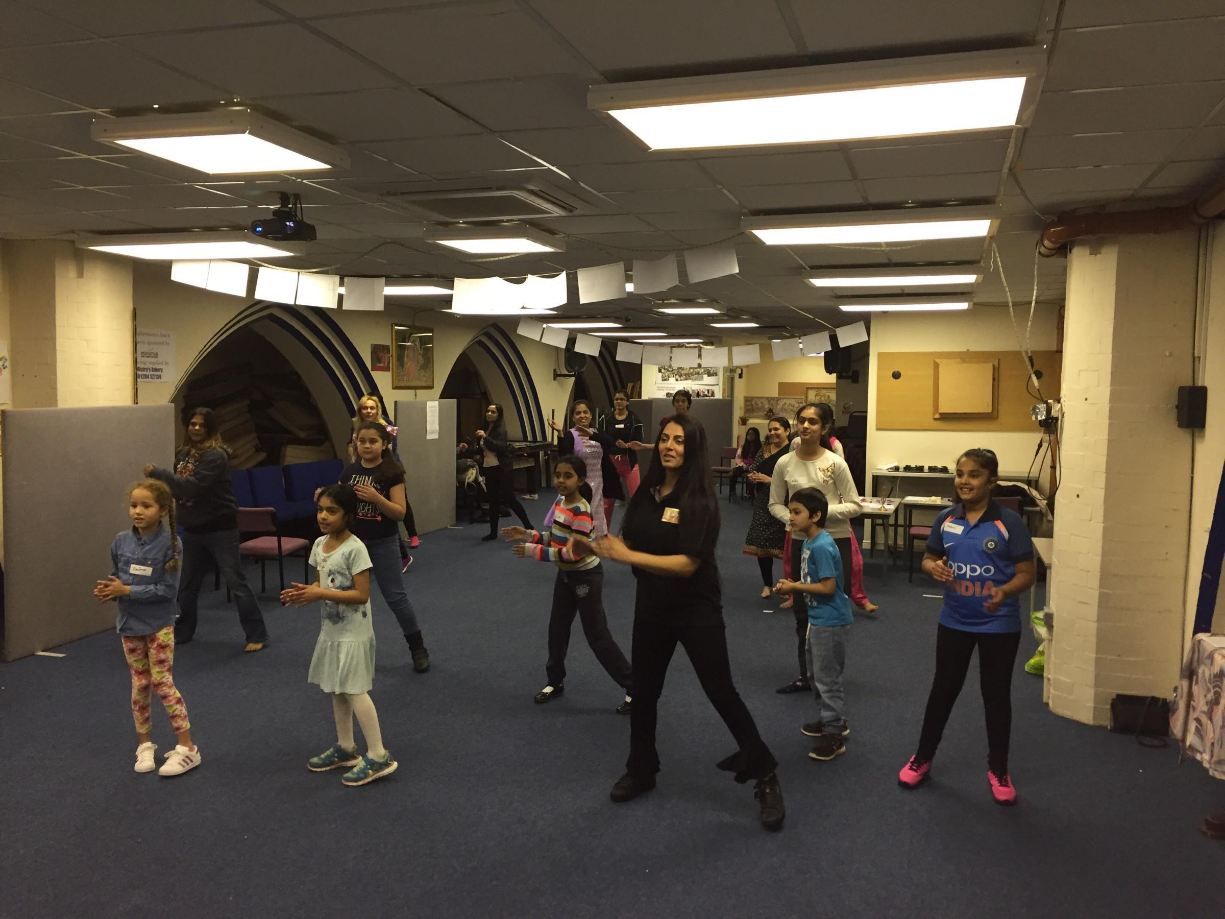 DANCE: The community is invited to take part in Bollywood dancing taster sessions