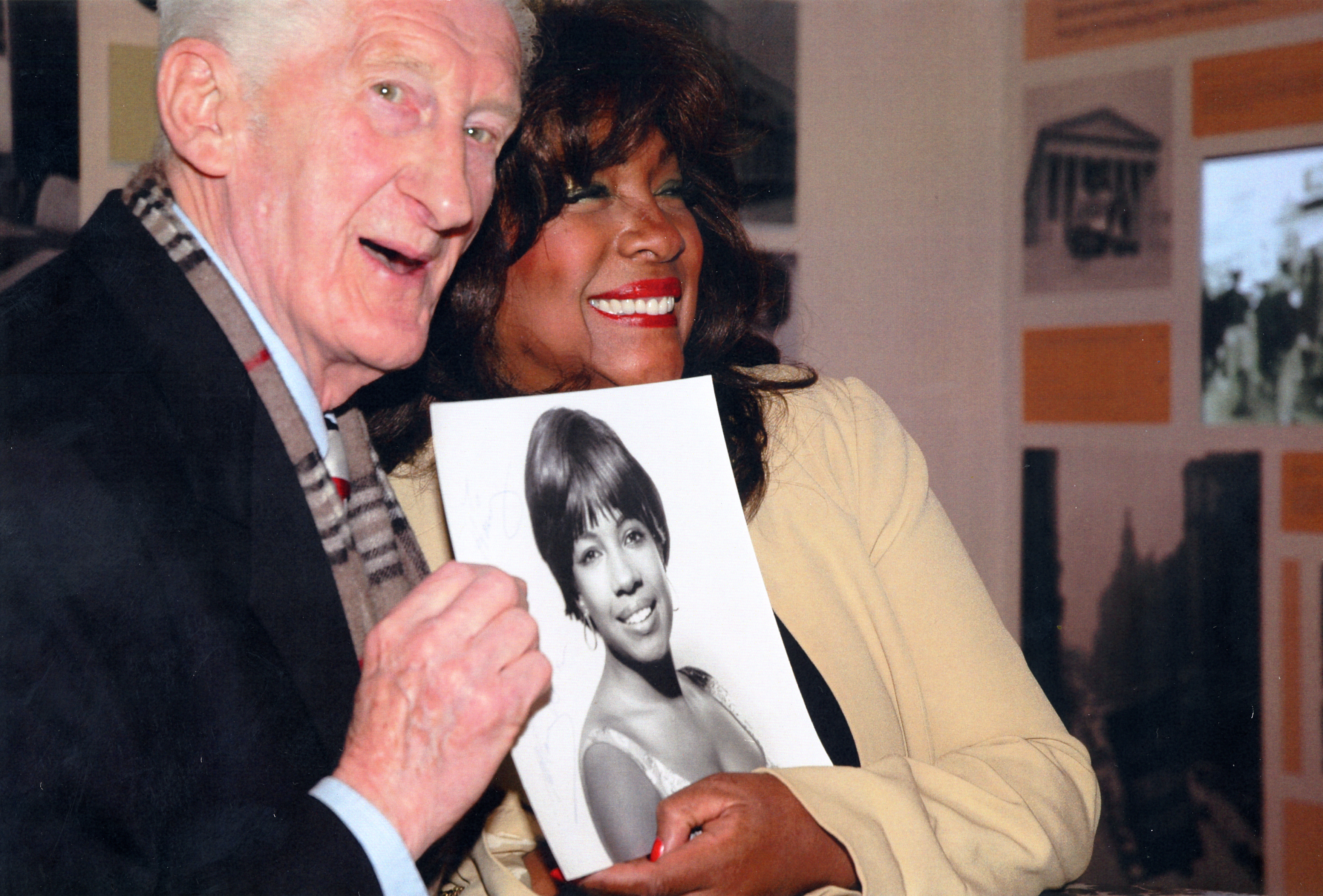 SPECIAL MOMENT: Harry Goodwin is reunited with Supremes legend Mary Wilson