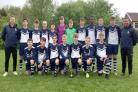 football Bolton Town Team U14s Greater Manchester County League Champions 2017 2018