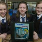 The Bolton News: VITAL LESSONS: George Tomlinson pupils, from left, Ella Bradbury, aged 13, Emily Walsh and Emma Bradley, both aged 12