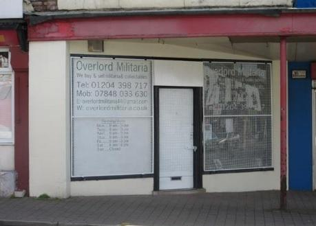 Overlord Militaria shop closes in Tonge Moor Road, Bolton   The
