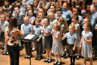 PERFORMANCE: St Peter's Farnworth during the last night of Bolton Schools' Music Festival 2017