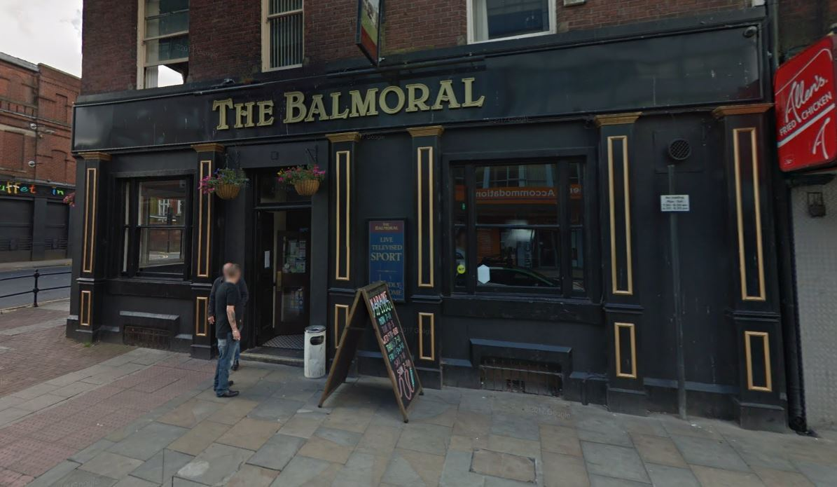 ASSAULT: The Balmoral in Bradshawgate