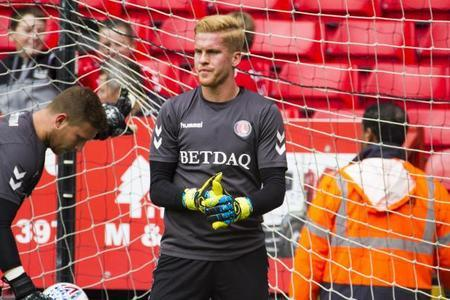 Ben Amos in his time with Charlton Athletic