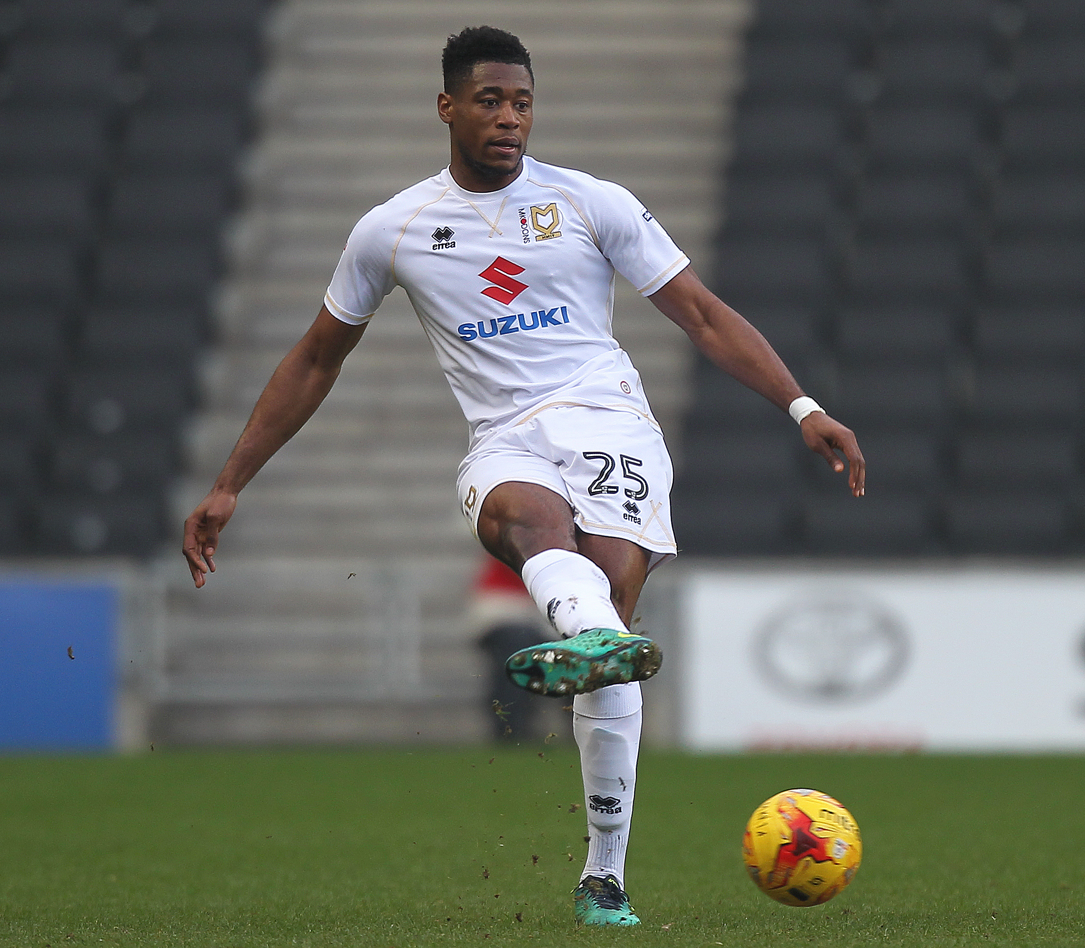 POSSIBLE: MK Dons attacker Chuks Aneke is one of the options being explored