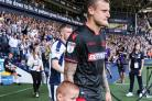 David Wheater leads the team out against West Brom