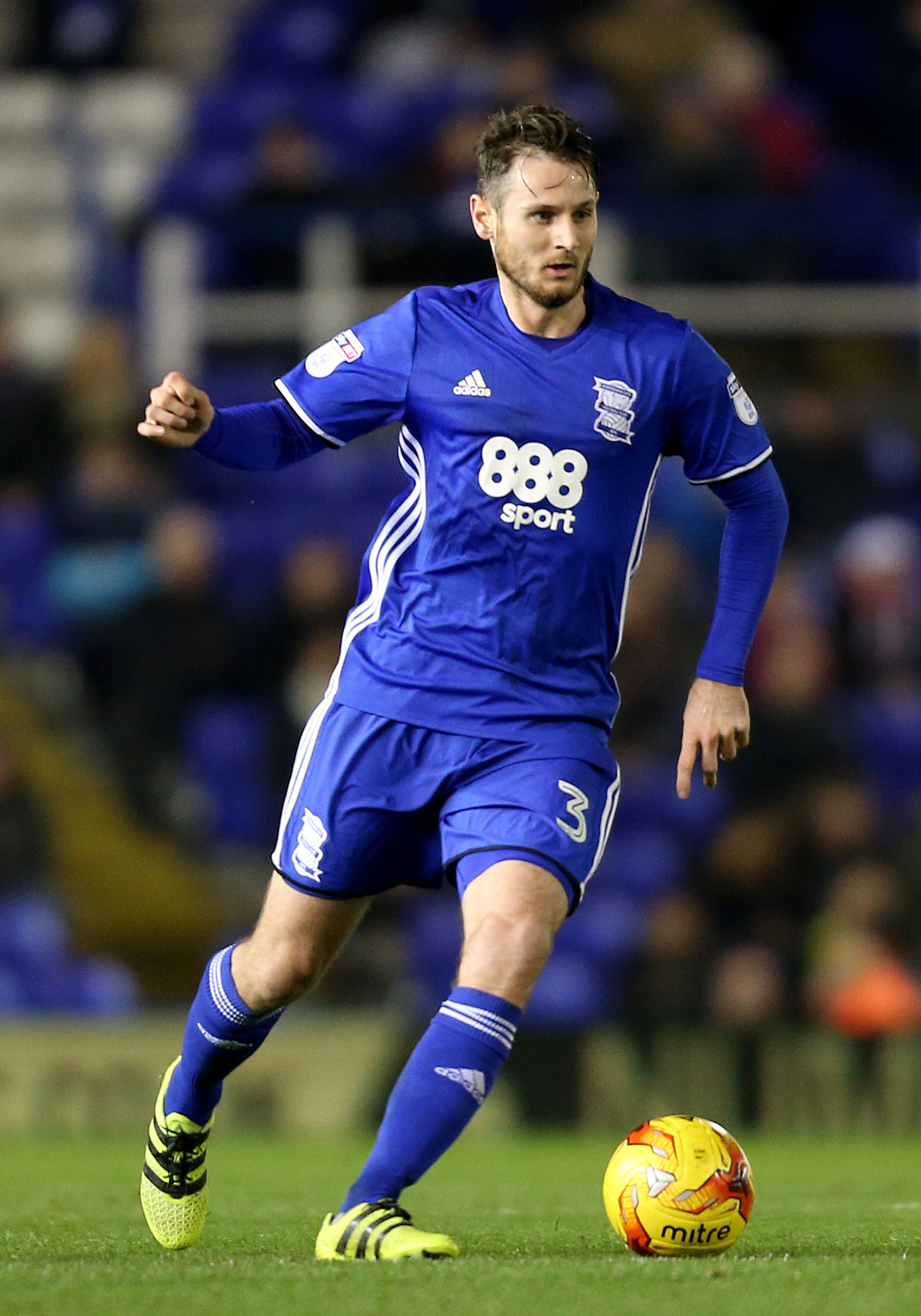 Jonathan Grounds in action for Birmingham City