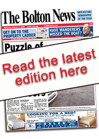 Bolton News E Edition Front Cover