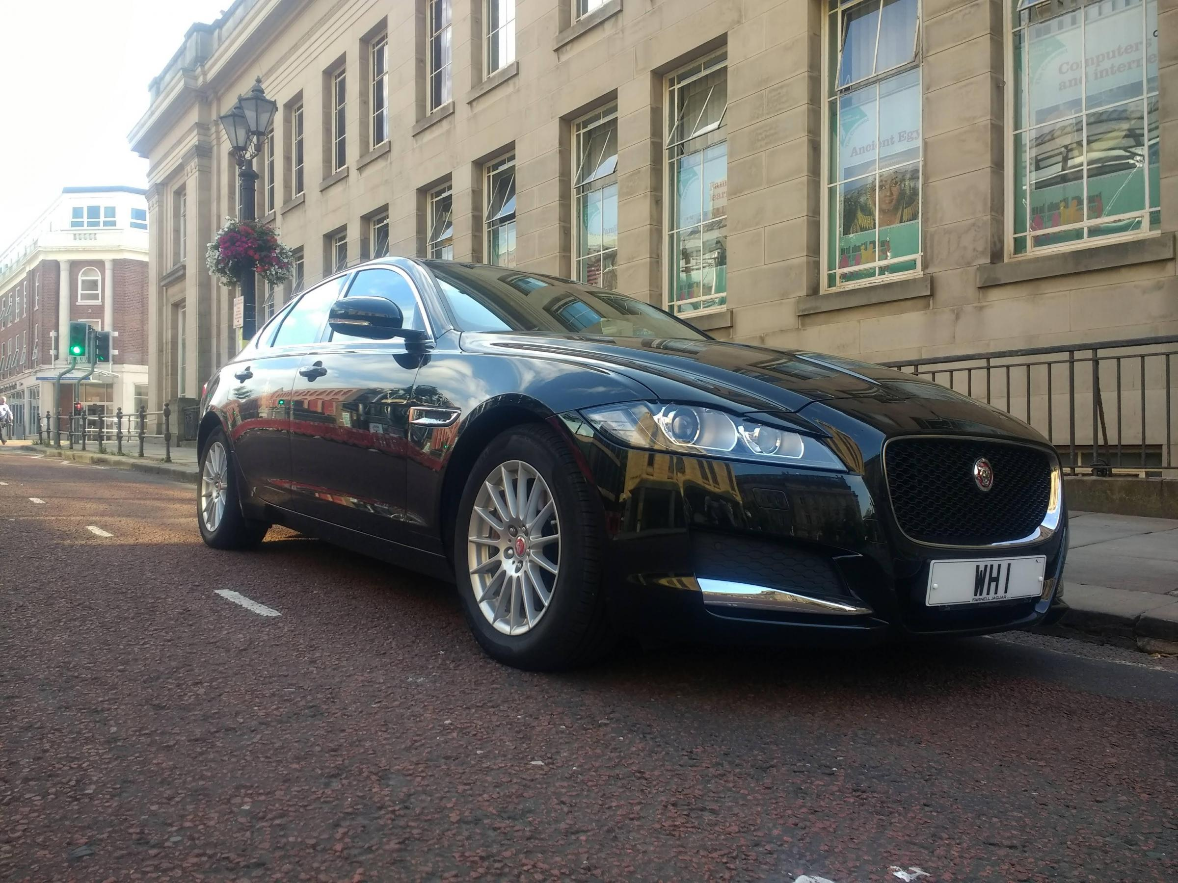 The Mayor of Bolton's Jaguar XF Prestige cost of £15,841 over three years