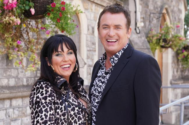 Jessie Wallace and Shane Richie, as EastEnders reveal photos of the pair ahead of Richie's return to Walford