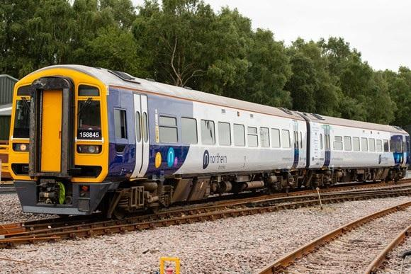 northern unveils first digital train with free wi fi first look