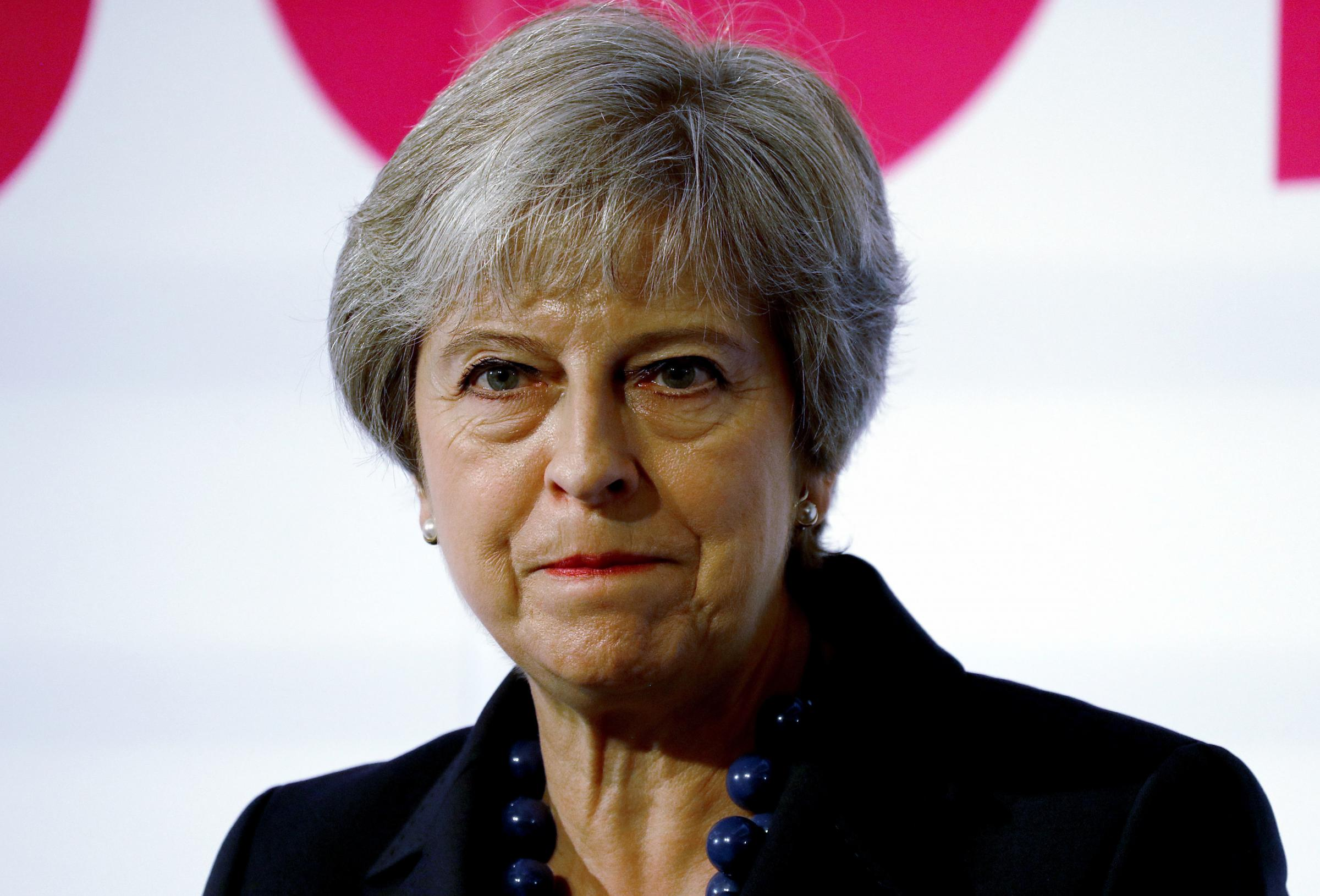 Prime Minister Theresa May speaks at the National Housing Summit in London where she detailed the Government's plans for a £2 billion programme from 2022 which aims to give housing associations the chance to secure money for projects runn