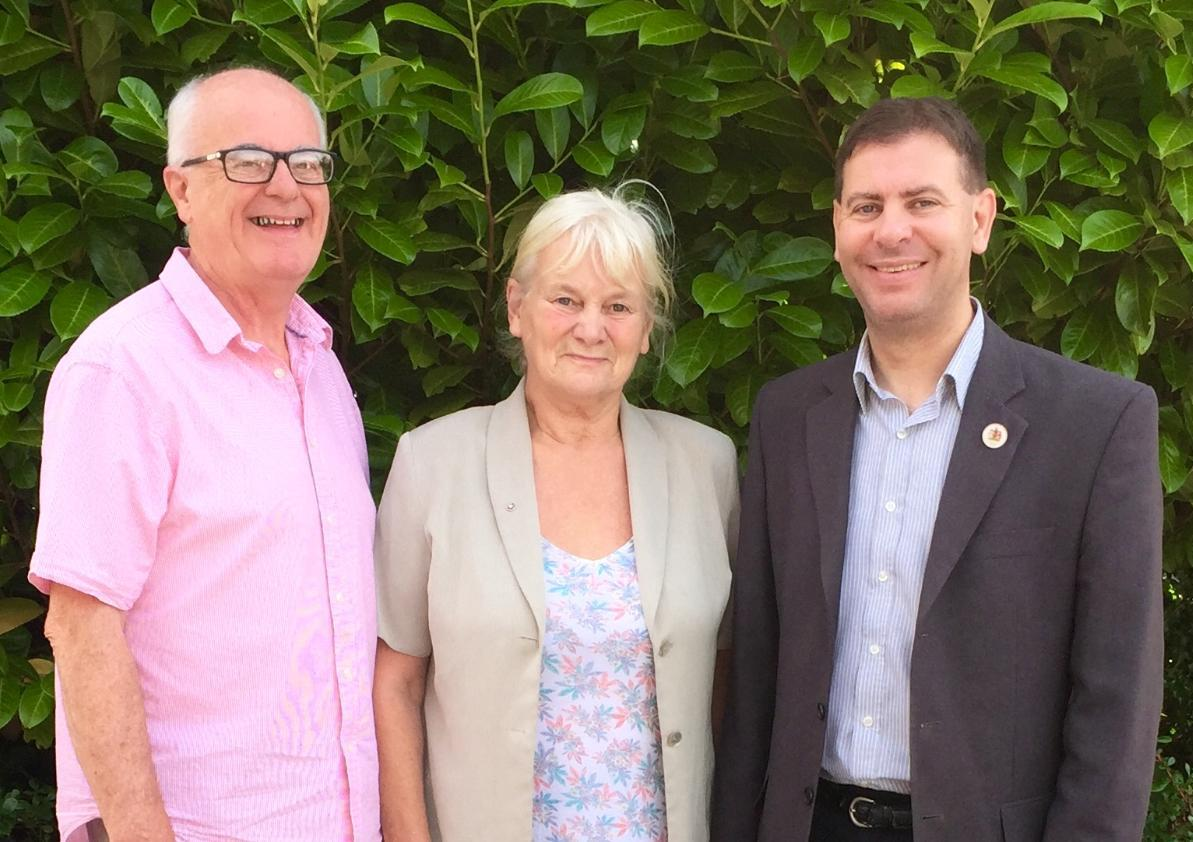 Horwich North East Councillors, Kevin McKeon, Joyce Kellett and Richard Silvester