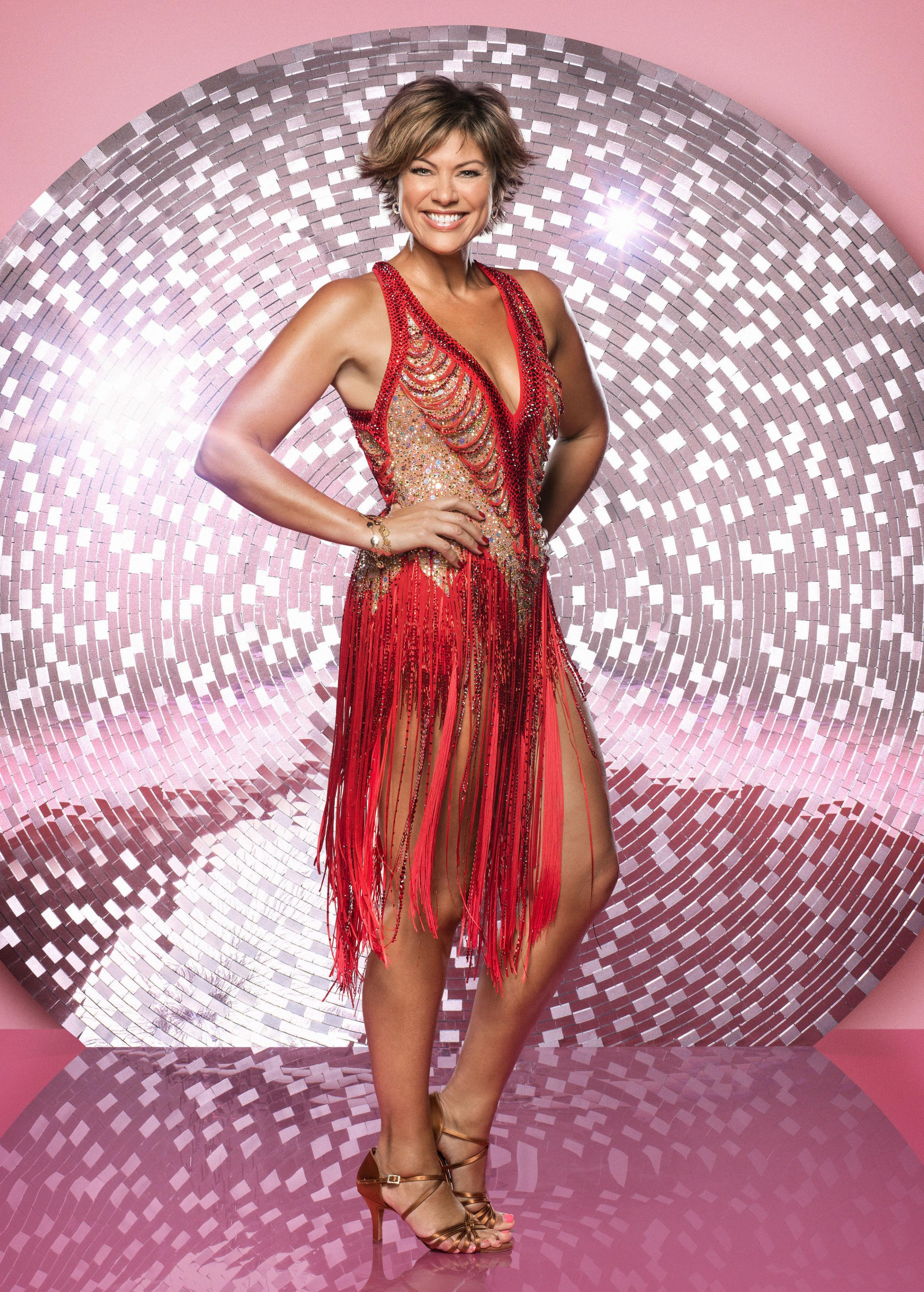 For use in UK, Ireland or Benelux countries only Undated BBC handout photo of Strictly Come Dancing 2018 contestant, Kate Silverton, who has admitted that her husband has had to be more understanding than she expected after her first dance on the show saw