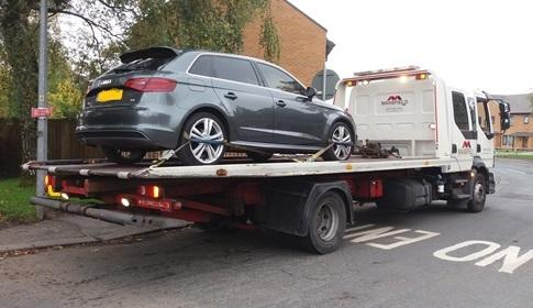 Police Seizing Womans Audi Discover Partner Has No Licence Or - Audi news