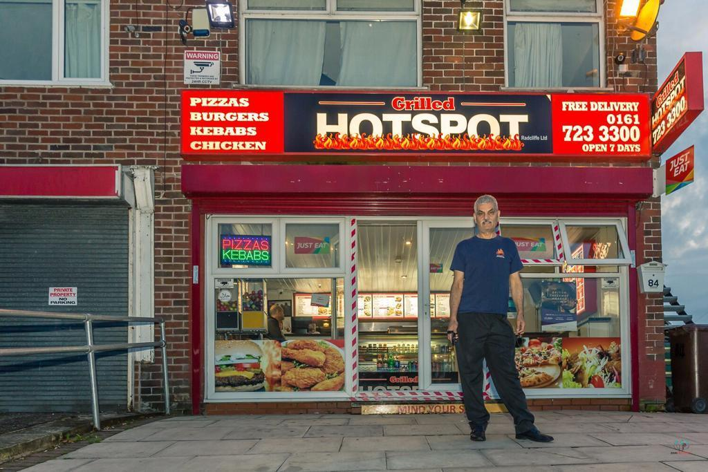 Grilled Hotspot Takeaway Radcliffe Is British Takeaway