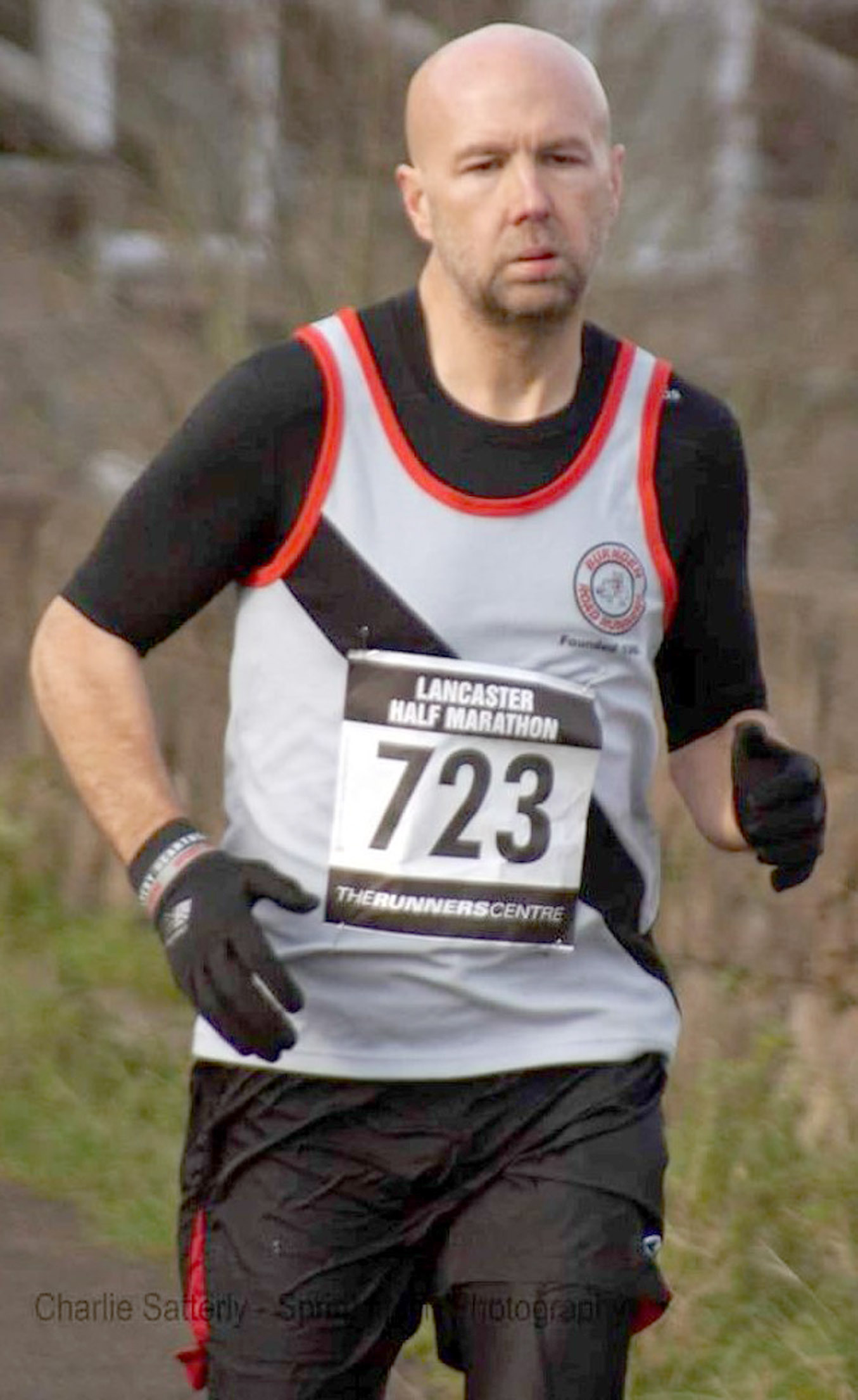 ON COURSE: Burnden's Shay Walker on his way to fifth place in Lancaster
