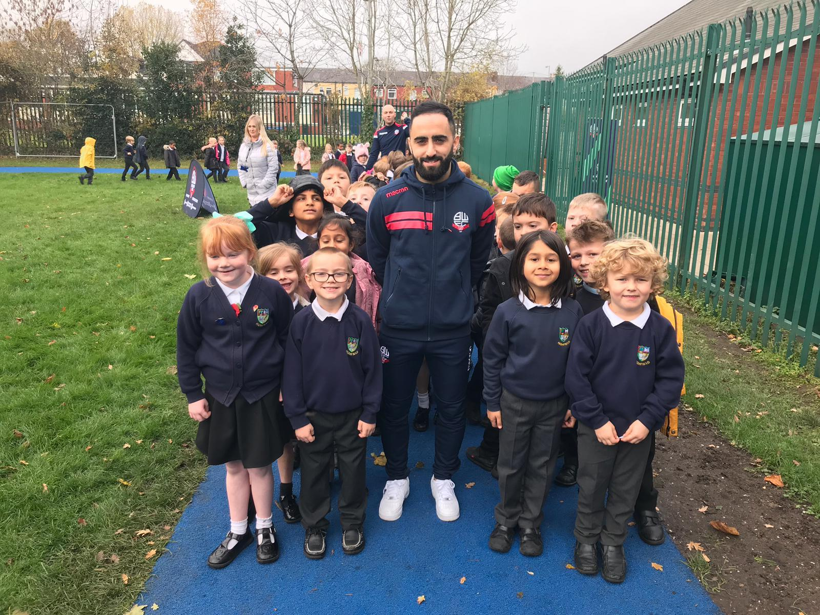 Whites wizard Oz gives pupils new goals