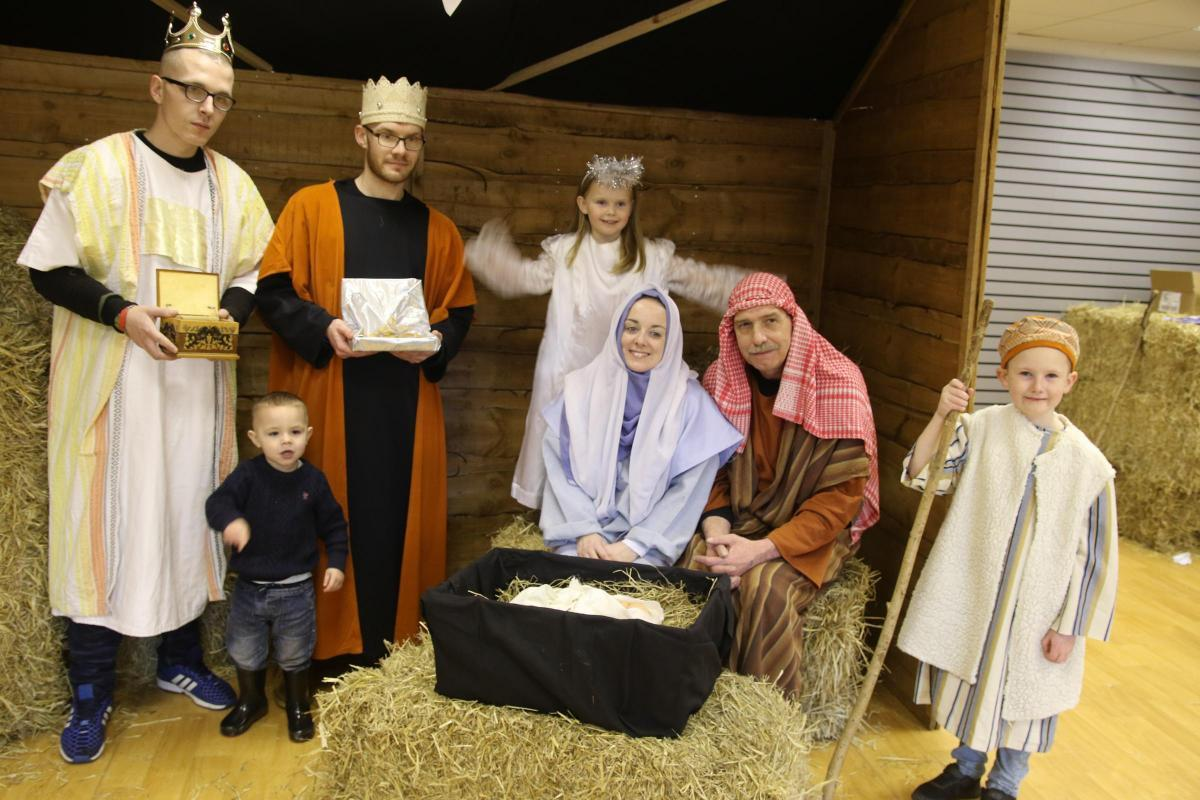 CHRISTMAS: Last year at Market Place Bolton when a Nativity took place in the shopping centre