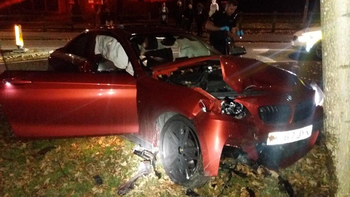 Driver arrested after crash in Ellenbrook, Worsley | The Bolton News