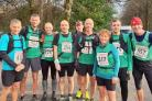 TEAM EFFORT: Lostock AC runners at the start of the Tour of Pendle