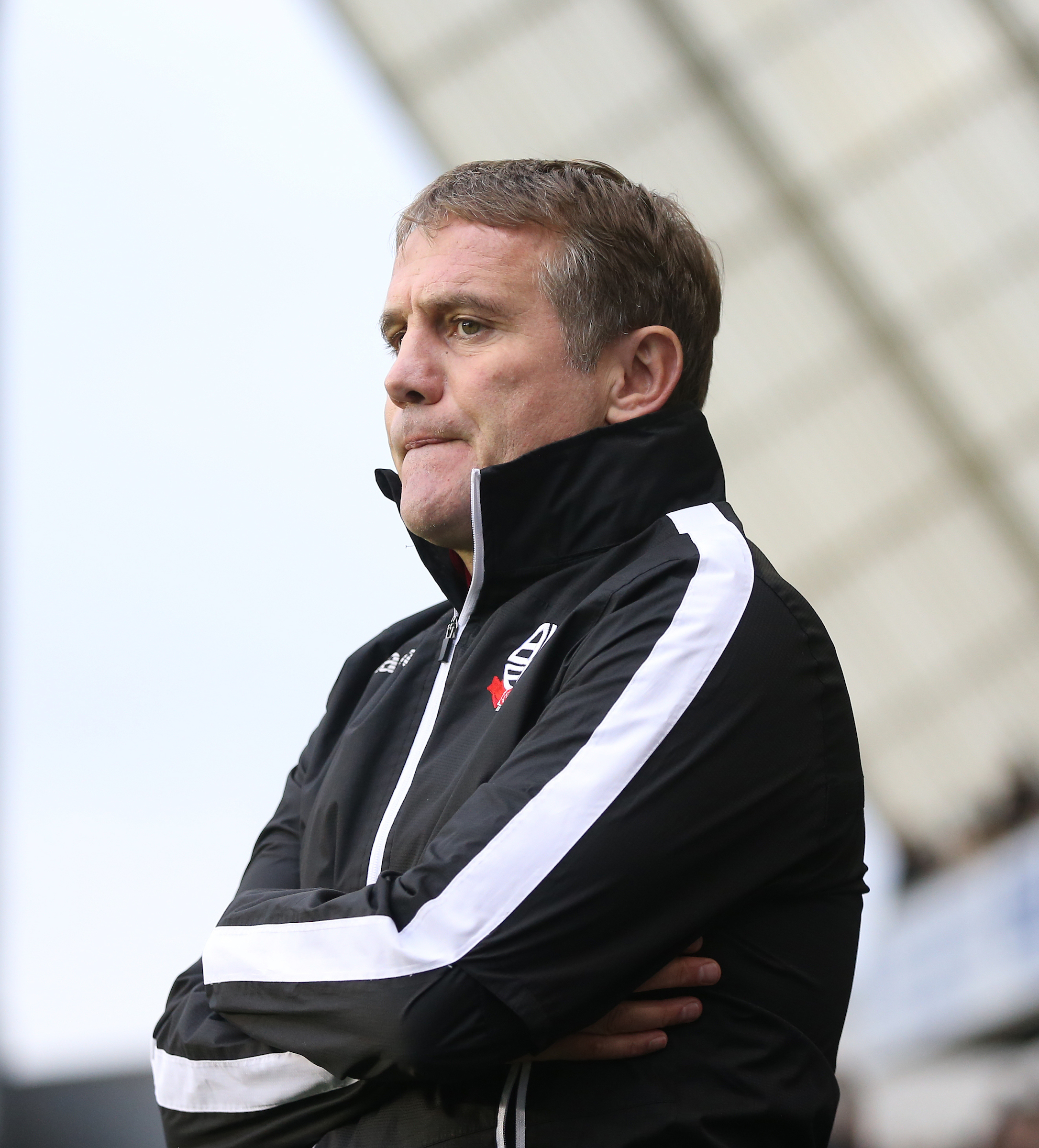 Phil Parkinson has come under increased pressure from fans