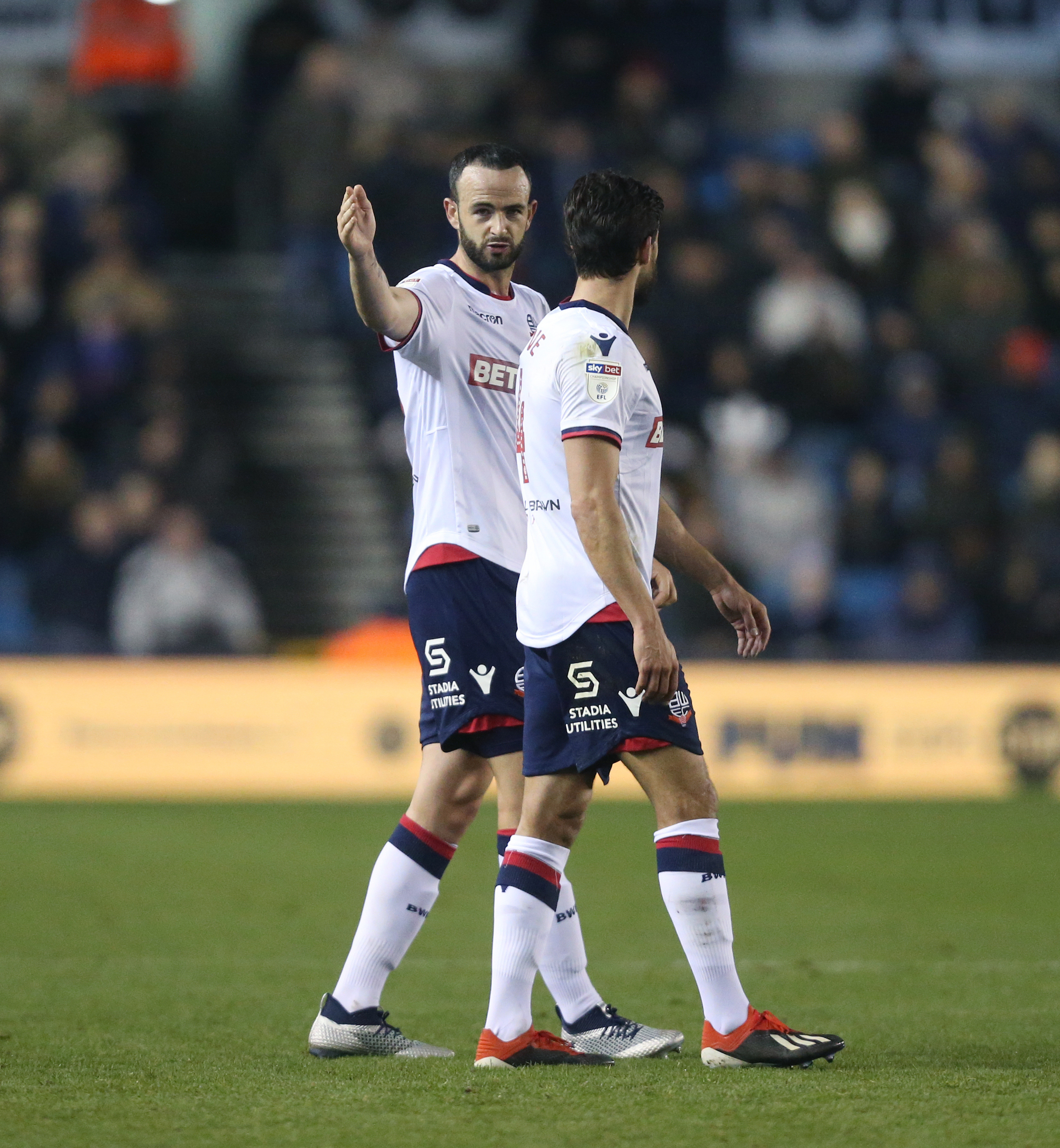 Marc Wilson is a doubt for tonight's game at Sheffield Wednesday