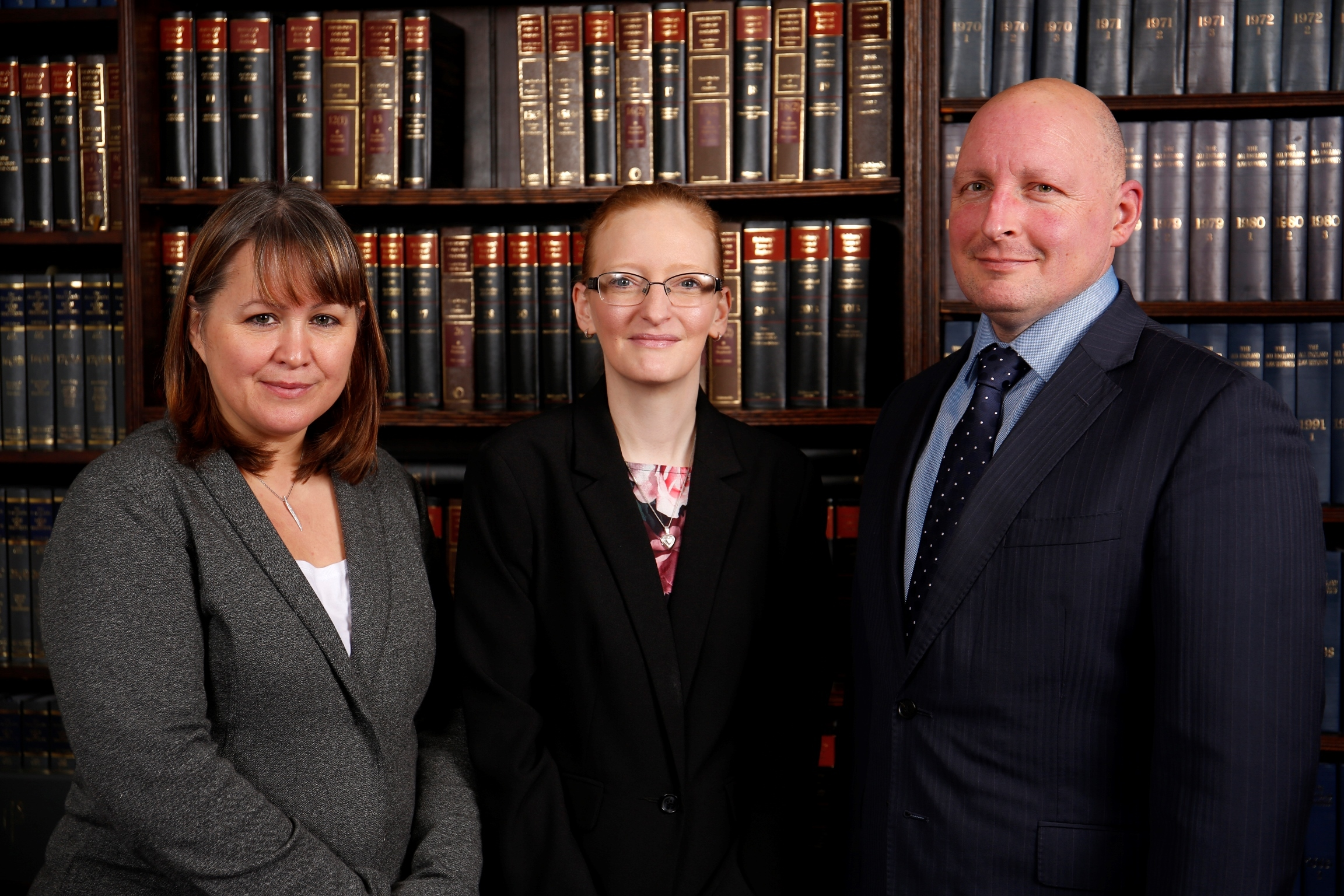 NEW FACE: From left, Lorraine Stratton-Webb, Kelly Fitton and Lee Marston