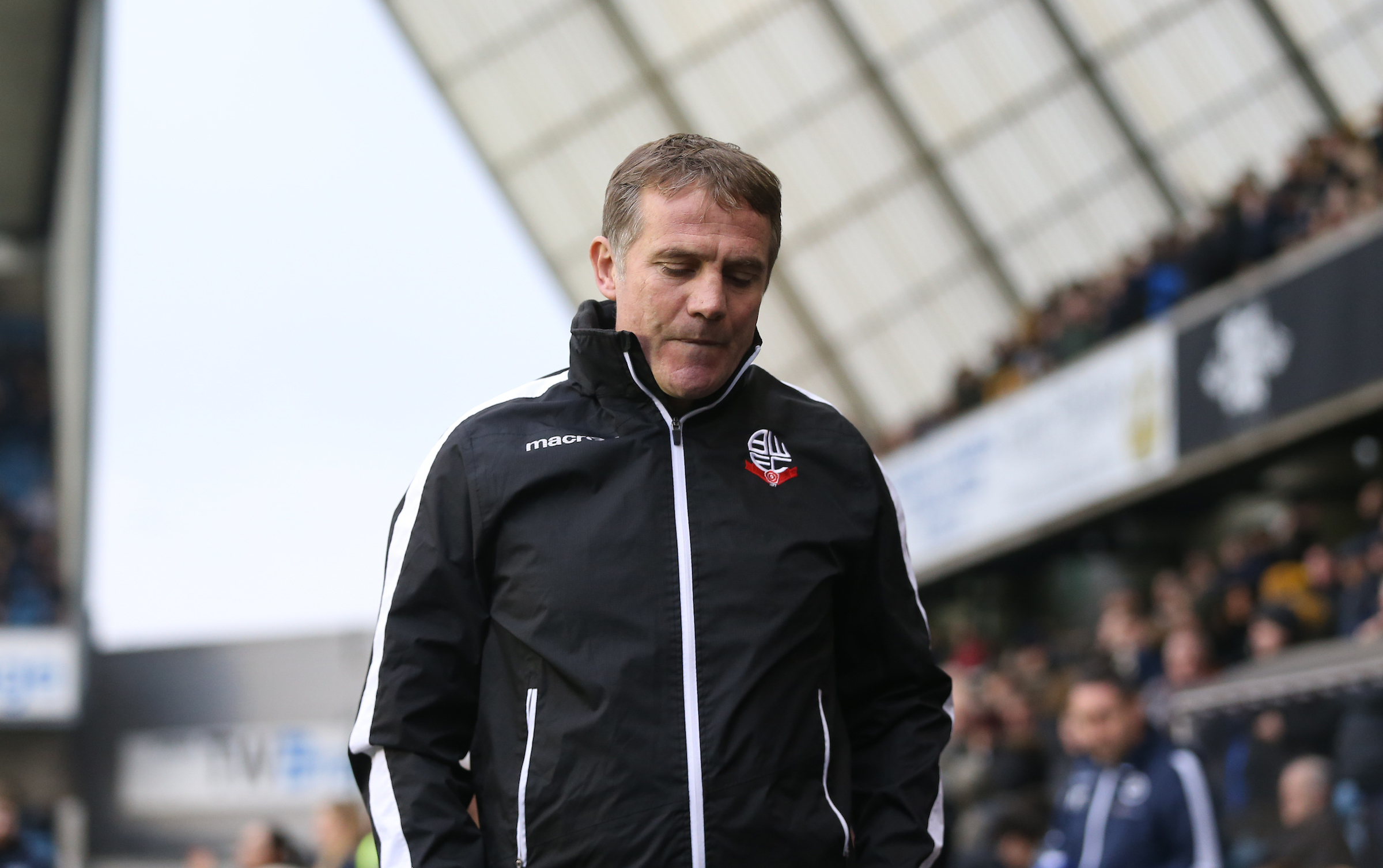 Phil Parkinson has not been paid the bonus money for keeping Wanderers in the Championship, it has been revealed