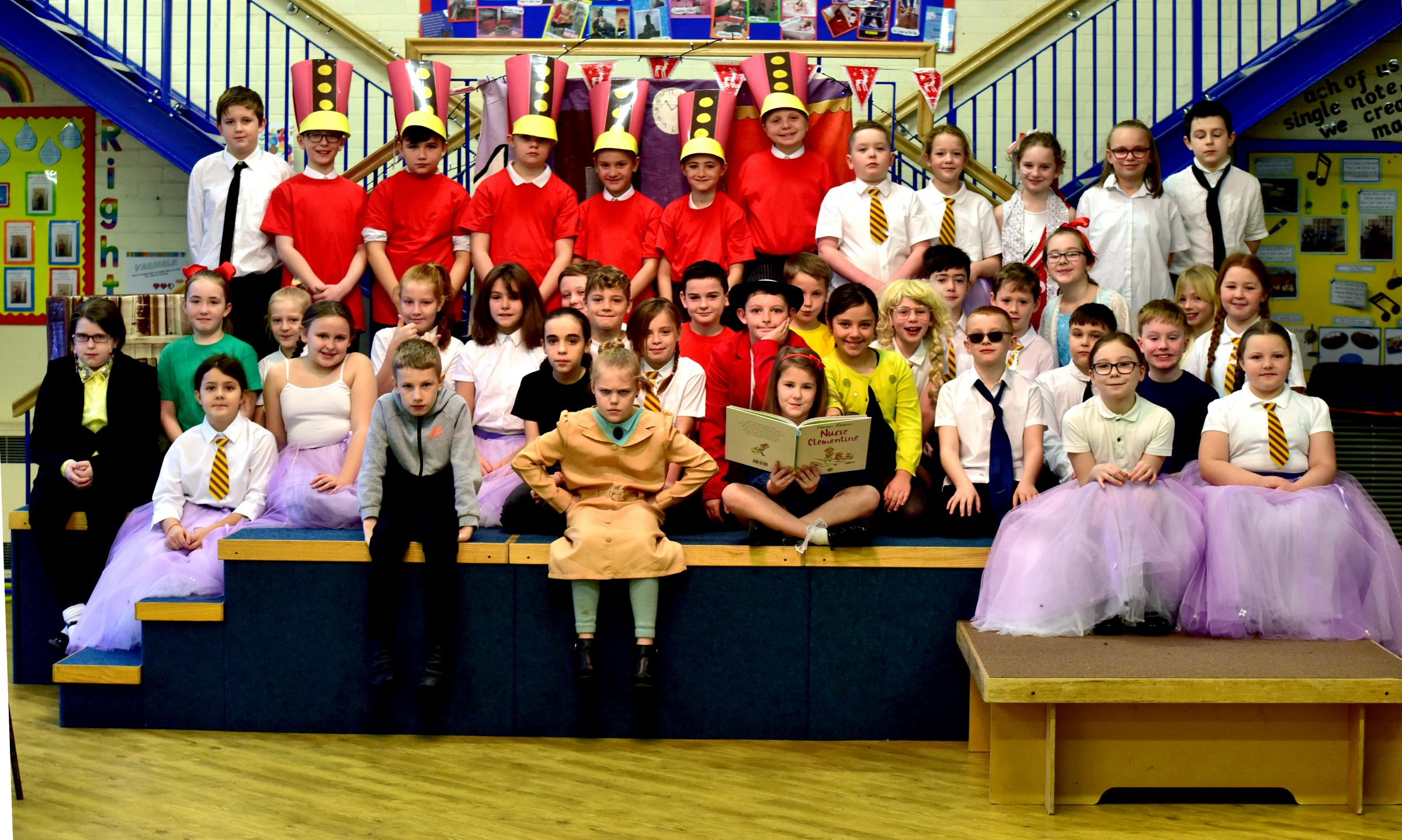 Little Lever school performs Matilda with help from Royal Shakespeare Company
