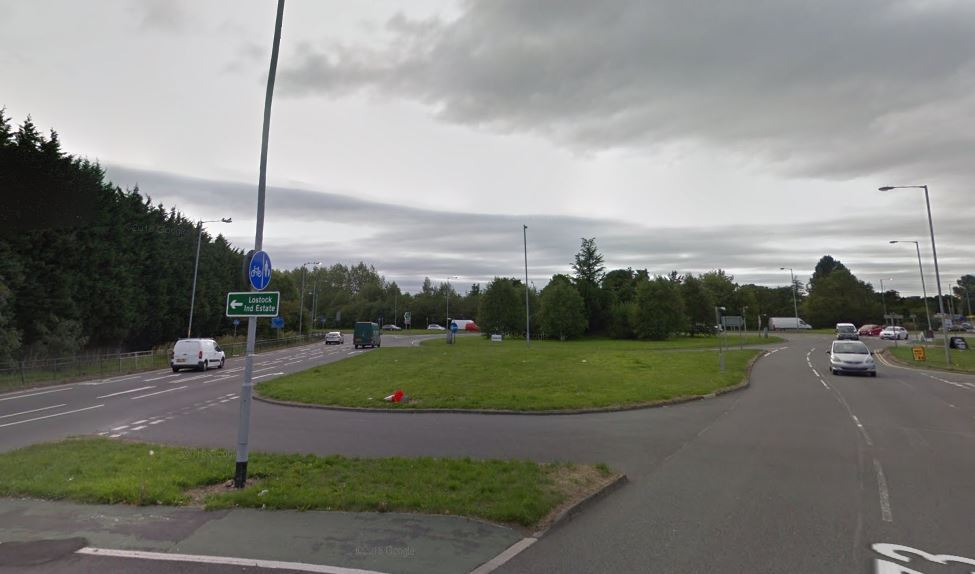 STINGER: The Beehive roundabout where police halted driver
