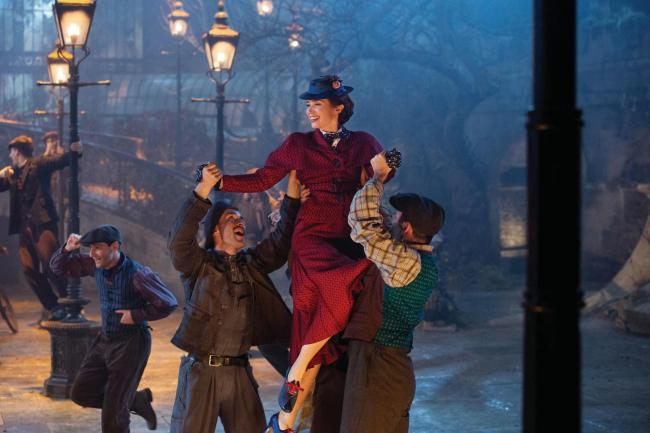 CINEMA REVIEW: Mary Poppins Returns serves up several heaped