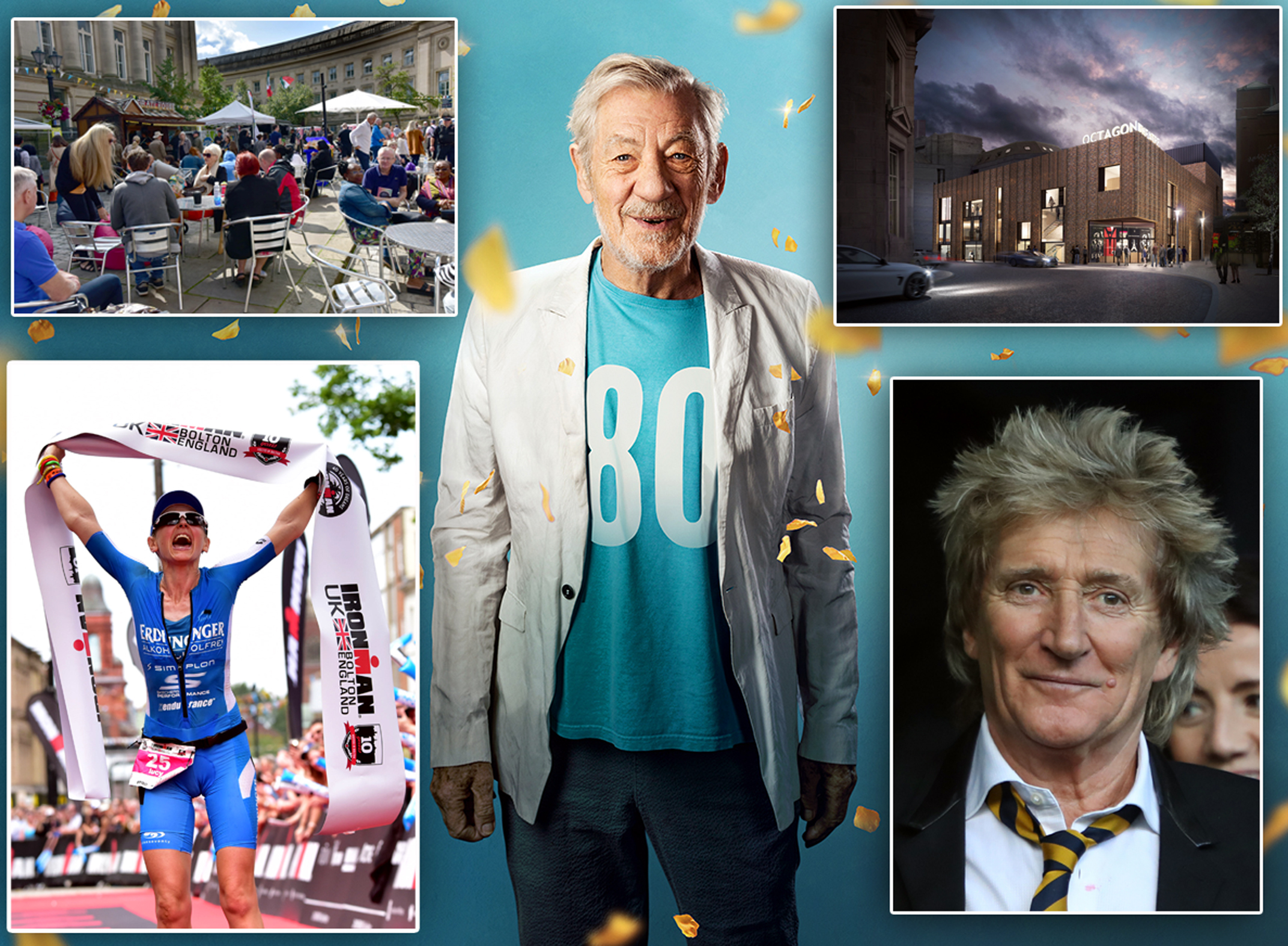 Rod Stewart, Ian McKellen and more — What's on in Bolton 2019
