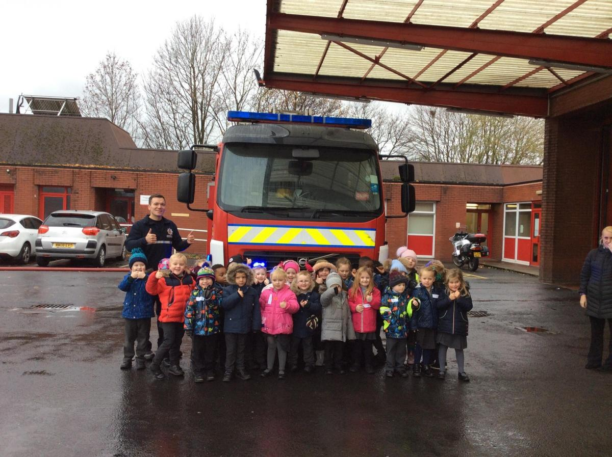 Children find out about real life heroes in school project