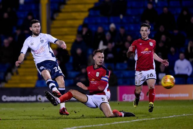 Jay O'Shea scores against Crewe