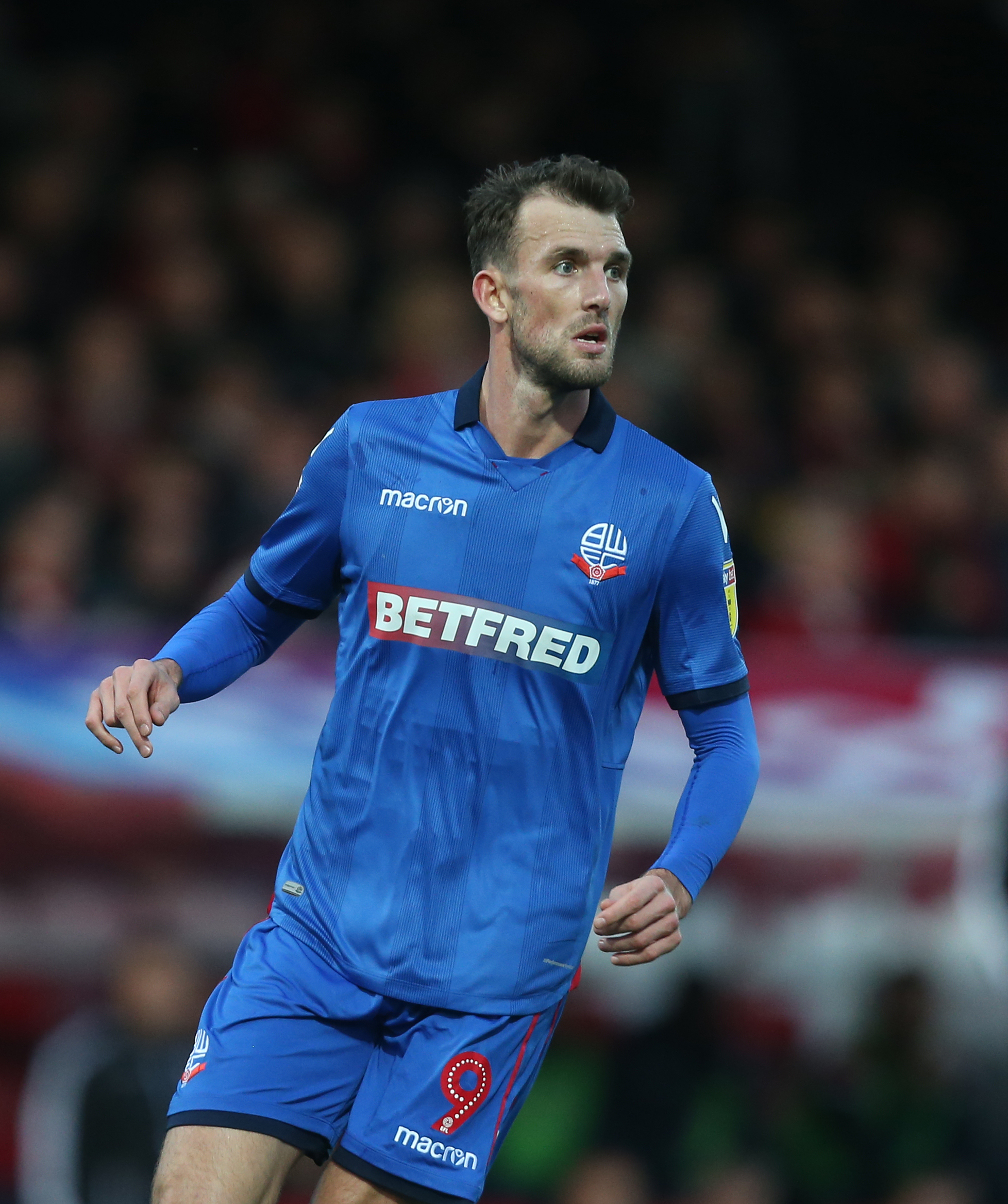 Bolton Wanderers striker Christian Doidge was unable to play in Saturday's FA Cup game against Walsall