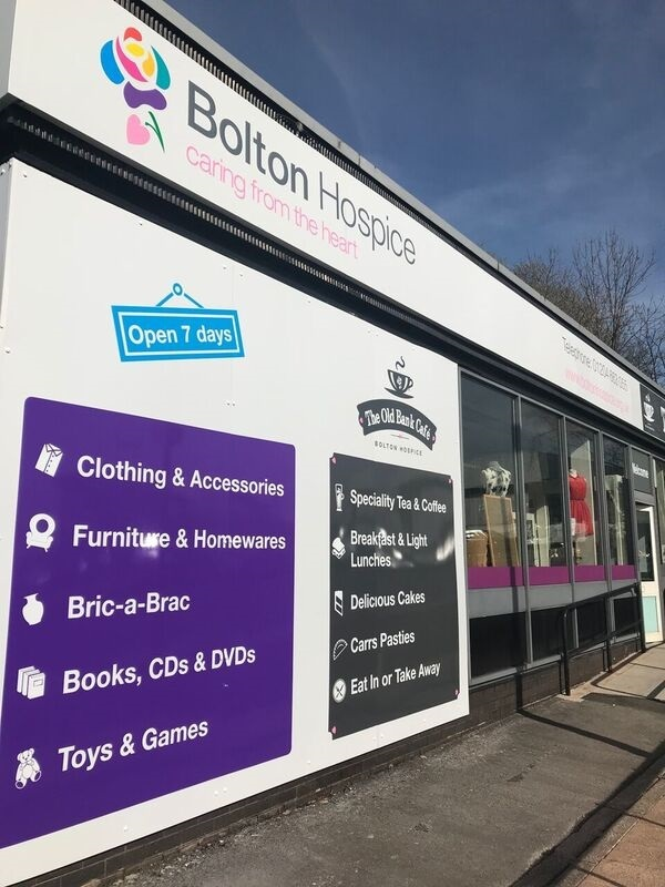 Bolton Hospice is looking for shop volunteers