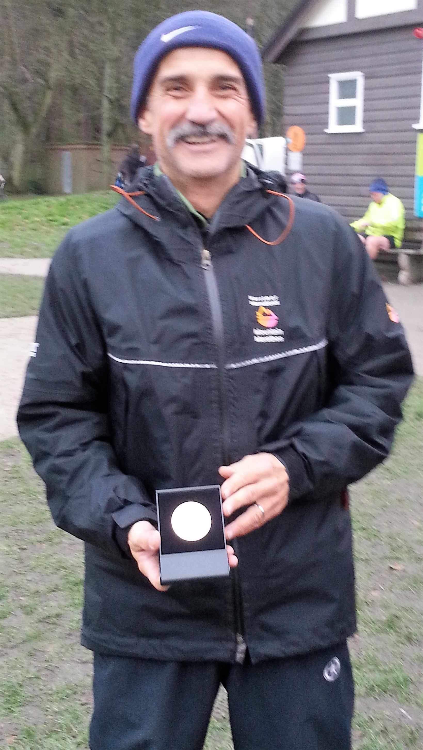 BRONZE: Andy Staveley was third at Witton Park
