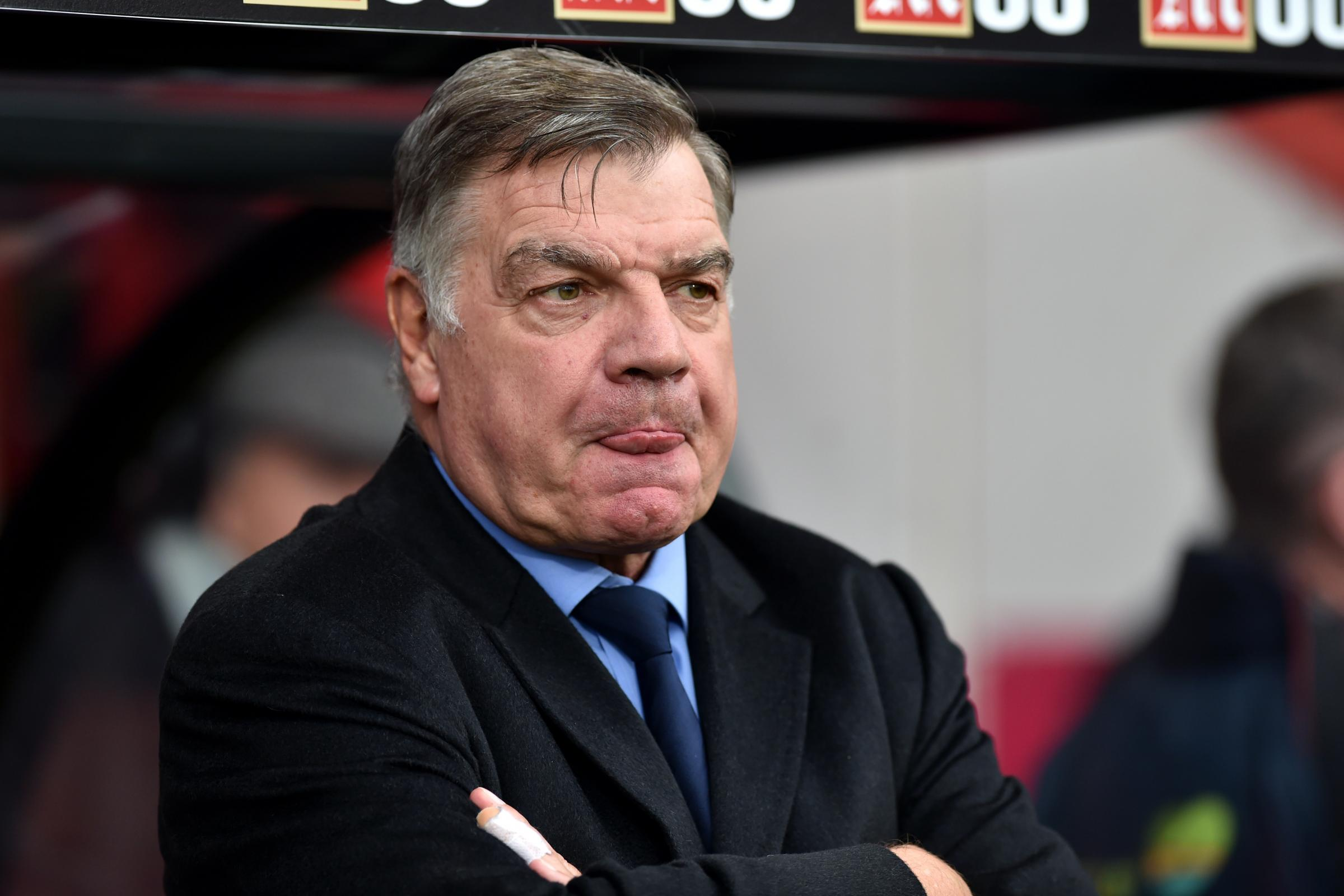 Wanderers were 'bound to end up where they are' says Sam Allardyce
