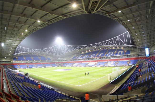 A general view of The Macron Stadium home of Bolton Wanderers Football Club  Photographer Mick Walker/CameraSport  The EFL Sky Bet League One - Bolton Wanderers v Rochdale - Tuesday 14th February 2017 - Macron Stadium - Bolton  World Copyright © 2017
