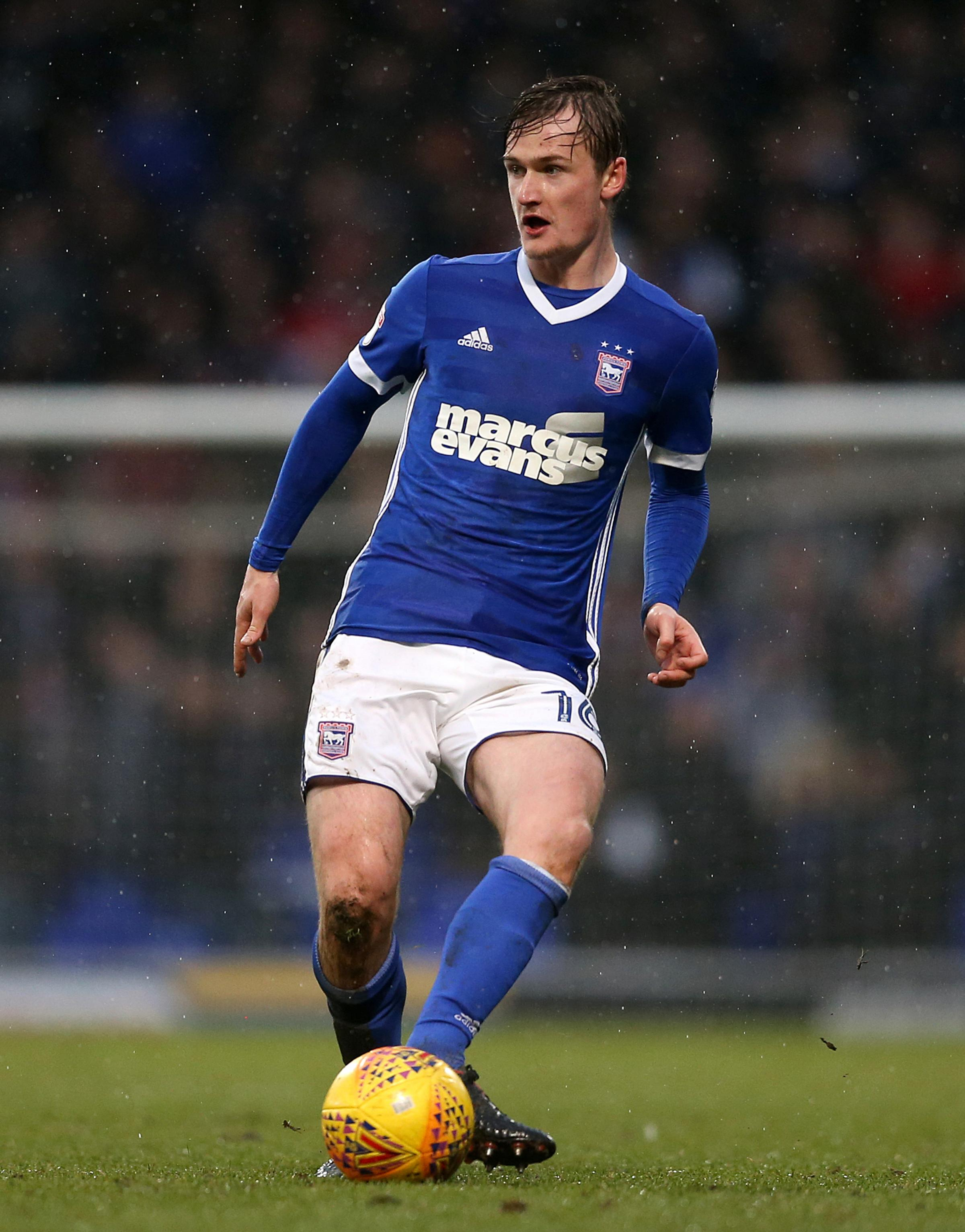 Ipswich Town's Callum Connolly during the Sky Bet Championship match at Portman Road, Ipswich. PRESS ASSOCIATION Photo. Picture date: Saturday January 27, 2018
