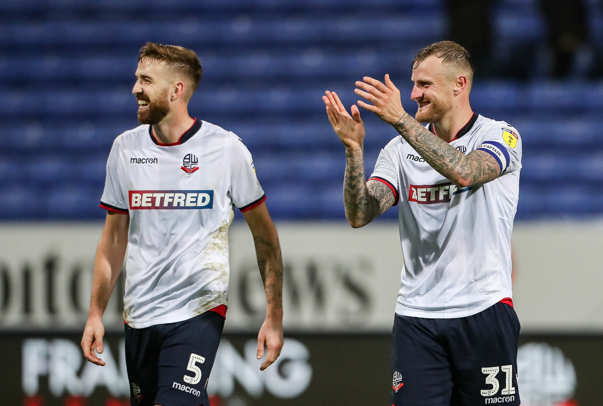 Mark Beevers and David Wheater could be part of a new-look Wanderers back line at Birmingham