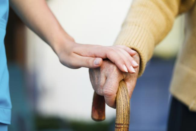 General stock picture of carers/carer caring for people. From Photos.com..